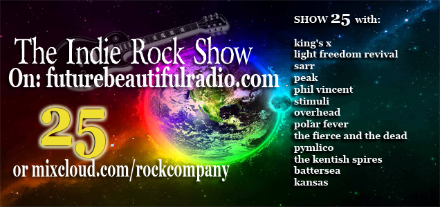 the indie rock show 25